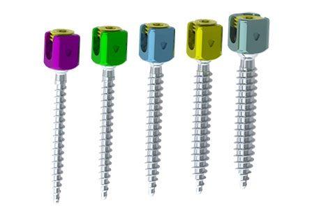 Implant SAXXO système ultra-compact de fixation vis polyaxial